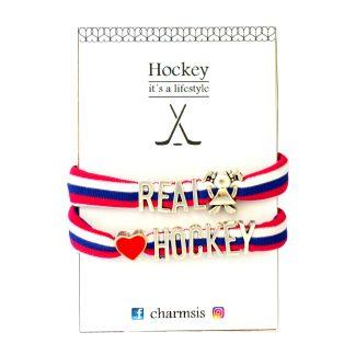 """""""náramok pre fanúšičky hokeja"""""""