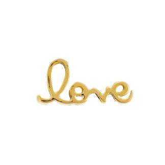 """""""prívesok zlatý nápis love"""""""