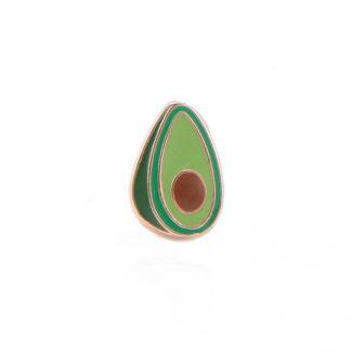 zlatý prívesok avokádo