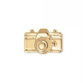 prívesok zlatý fotoaparát
